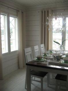 Sisustus ja Sepustus: Kuopion Asuntomessujen talo 7 Pikku Pietari 191 m2