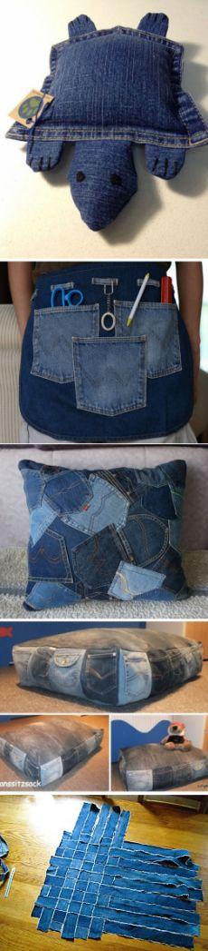 Переделки из джинсов (подборка) / Переделка джинсов / ВТОРАЯ УЛИЦА