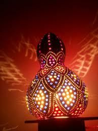 Electrical : How To Create DIY Gourd Lamps Happy Lampu201a Beautiful Groud Lampsu201a  Oil Lamps As Well As Electricals
