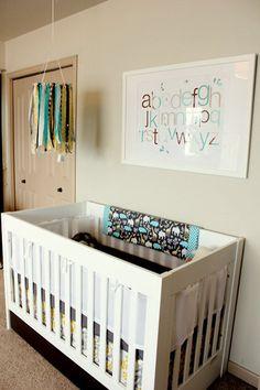 framed alphabet for nursery (Sonia)