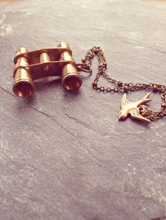 Binocular Necklace #boho #accessories