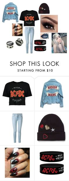 """""""Baby Gurrrrrrlllll"""" by punk-764 on Polyvore featuring Boohoo, Frame and Miss Selfridge"""