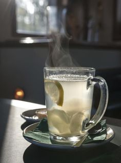 Drinking Hot Water & Lemon in the Morning | LIVESTRONG.COM