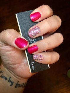 Color Street Shangri-La Glitter Nail Polish Strips - Direct Sales Member Article By ! Callie Wagner #GlitterNails