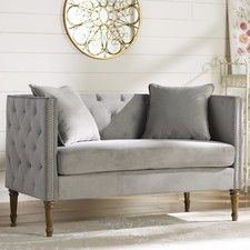 Vanves Tufted Settee