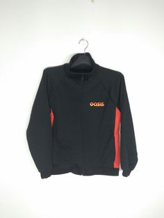 6cb4d4849f929 Vintage oasis band warm up training jacket made in england