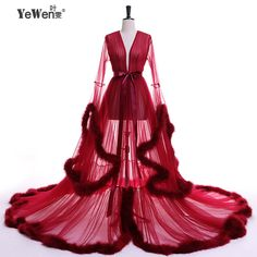 Cheap evening dress, Buy Quality party evening dress directly from China robe de soiree Suppliers: Vestido de festa Evening Dress Robe De Soiree V Neck Feathers Long Tulle Party Evening Dresses 2017 Burgundy pink prom dresses Pink Prom Dresses, Cheap Evening Dresses, Evening Gowns, Plus Size Robes, Lingerie Party, Special Occasion Dresses, Ideias Fashion, Feathers, Formal Prom
