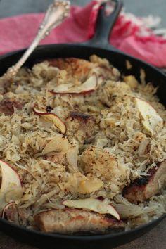 Pennsylvania Dutch sauerkraut + pork.