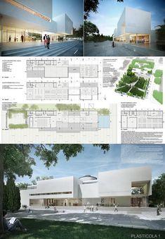 """El Jurado y la Comisión Asesora dieron a conocer el fallodel Concurso de Anteproyectos para el Mercodur Nuevo Edificio Biblioteca Municipal de Campana """"Dr"""