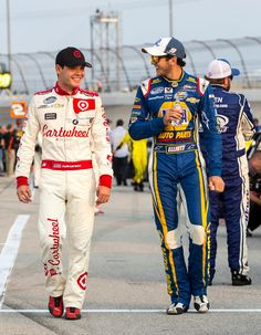 Kyle Larson & Chase Elliott - Here's to the future of Nascar