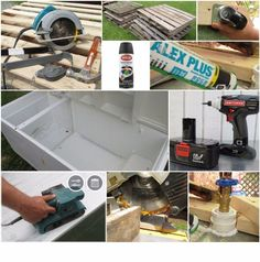 Awesome Rustic Cooler From Broken Refrigerator and Pallets: 11 Steps (with Pictures) Wood Cooler, Diy Cooler, Outdoor Refrigerator, Refrigerator Cooler, Homemade Cooler, Old Door Projects, Pallet Projects, Pallet Crafts, Woodworking Projects