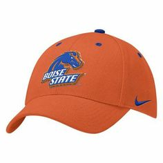 Nike Boise State Broncos Orange Wool Classic Hat