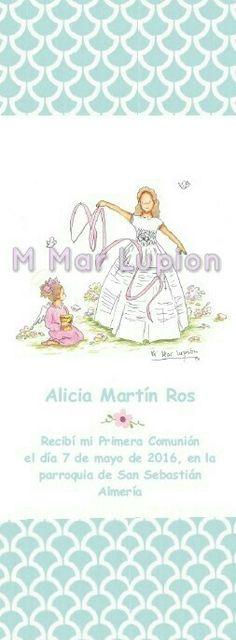 #marcapaginas #comunion Blog, Illustrations, Blogging