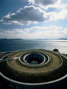 The Oval of the Benesse Art Site - Naoshima