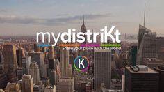 mydistriKt is an innovative social media to share and conneKt to places you love.  mydistriKt is available on the App Store.