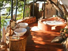 Tongabezi tree house...perfect hideaway...i cant believe this place is real!