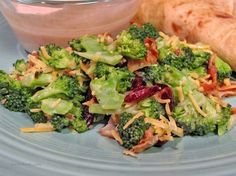 Make and share this Broccoli and Cranberry Salad recipe from Genius Kitchen.