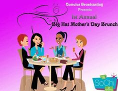 Cumulus Broadcasting's Mother's Day Brunch. Friday, May 6, 2016 at The SoChi Gallery.