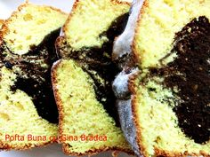 Banana Bread Reteta, Sweet Cooking, Sweet Pastries, Pound Cake, Sweet Bread, Dessert Bars, Family Meals, Family Recipes, Cake Recipes