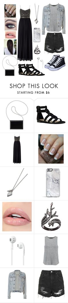 """Wedding Guest & Bridal Party"" by slytherinavenger ❤ liked on Polyvore featuring Nine West, Adrianna Papell, OPI, Lord & Taylor, rag & bone and Topshop"