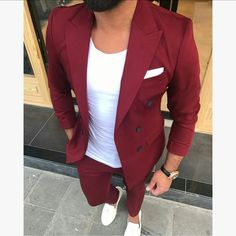 men's fashion suits for business wardrob men's fashion recommended items style inspiration men's awesome hairstyles made Mens Casual Suits, Dress Suits For Men, Stylish Mens Outfits, Casual Outfits, Suit For Man, Trendy Suits For Men, Formal Suits For Men, Mens Suits, Blazer Outfits Men