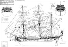 SHIPMODELL: handcrafted boat and ship models. Ship model plans , history and photo galleries. Ship models of famous ships. Model Sailing Ships, Old Sailing Ships, Model Ships, Model Ship Building, Boat Building Plans, Bateau Peche Promenade, Model Boat Plans, Ship Drawing, Wood Boats