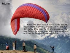 #Manali  @Getupandgotours Adventure Holiday, Adventure Tours, Recreational Activities, Hill Station, Paragliding, Winter Time, Small Towns, Mountain Biking, Exotic