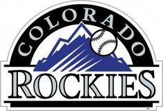 "Colorado Rockies 12"" Vinyl Magnet. #Neoplex #Sports #Baseball #MLB #Magnet #ColoradoRockies"