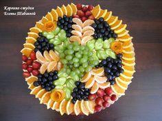 Fab Festive Fruit Platter Arrangememt: DIY Festive Fruit Platter for Christmas and Holiday or Any Party: Party Fruit Serving Idea Veggie Display, Veggie Tray, Fruit Kabobs, Fruit Salad, Fruit Smoothies, Fruit Appetizers, Fruit Snacks, Fruit Food, Fruit Display Wedding