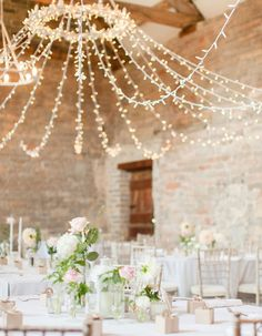 8 Dazzling Ways to Illuminate Your Wedding That Give String Lights A Major Upgrade
