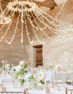 8 Wedding Lighting Ideas That Aren't String Lights
