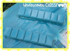 Undercover Classroom: Easy~Peasy Place Value Math Place Value, Place Values, 4th Grade Math, Grade 1, Classroom Organization, Organizing, Pill Boxes, Undercover, Easy Peasy