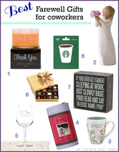 Farewell Gifts for Coworker   Top Farewell Gift Ideas for Coworker
