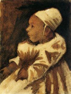 Vincent Van Gogh Baby 1882