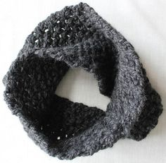 Charcoal Mobius Scarf by jubilee127 on Etsy, $18.00