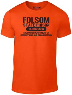 Department Of Corrections, Cool T Shirts, Awesome, Mens Tops, Cool Tees