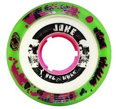 Atom Juke 2.0 93A Pink Quad Indoor Roller Skate Wheels - Perfect for Roller Derby Skates by Atom Wheels. $47.00