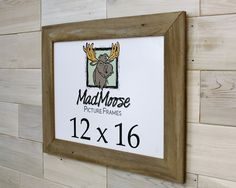 Barn Wood Picture Frame [style: Thin x Barn Wood Picture Frames, Nail Holes, Color, Style, Swag, Colour, Outfits, Colors