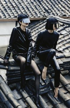 Seoul, Seoul, Seoul! by Kang Hyea-Won for Vogue Korea August 2013.....Get ready for some cyber styling....x