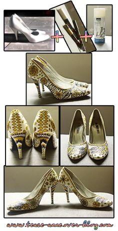 DIY escarpins ! Customiser ses chaussures avec des Poska ! A découvrir ici > http://teaze-anne.over-blog.com/2014/02/diy-customiser-ses-escarpins-avec-des-poska.html