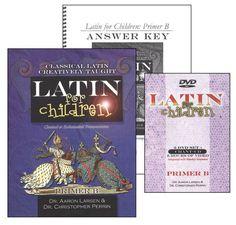 Latin for Children: Primer B Pack