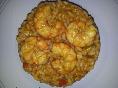 Arroz meloso con gambas, foto 1 Cooking Time, Cooking Recipes, Healthy Recipes, Creamy Rice, Tasty, Yummy Food, Spanish Food, Prawn, Fish And Seafood