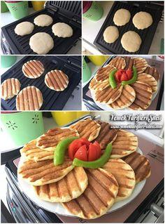 Tost Makinesinde Kahvaltılık Pofuduk Tarifi Homemade Beauty Products, Waffles, Food Porn, Brunch, Health Fitness, Food And Drink, Cooking Recipes, Eat, Breakfast