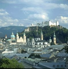 Salzburg (still craving for The Sound of Music tour trip, LOL)