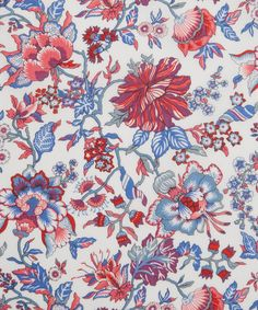 Liberty Fabrics' Christelle is lustrously detailed and rich in colour – printed in Liberty's Italian fabric mill, on our inimitable Tana Lawn cotton. Liberty Print, Liberty Fabric, Pattern Art, Print Patterns, Liberty Scarf, Liberty Of London, Mark Making, Making Ideas, Icon Design
