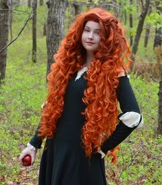 she has links to how she made the wig and dress on her blog