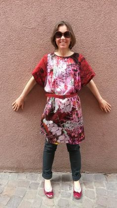 #MMMay14 - Day 6 - Ely Kishimoto dress in Italian silk/cotton and cotton