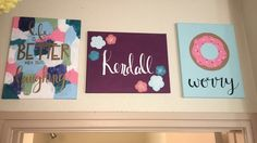 Sorority Canvases by Ali