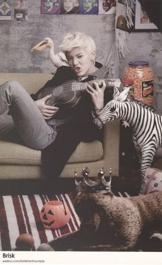 B.A.P Zelo. I love Zelo of course!