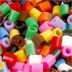 Xl Bugelperlen Im Eimer Neonfarben 950 Stuck Playbox Mytoys